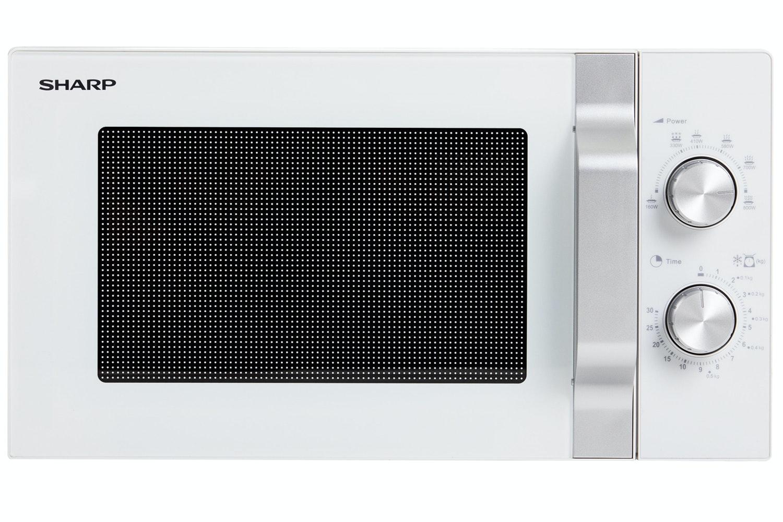 Sharp 20L Solo Microwave | R204WM | White