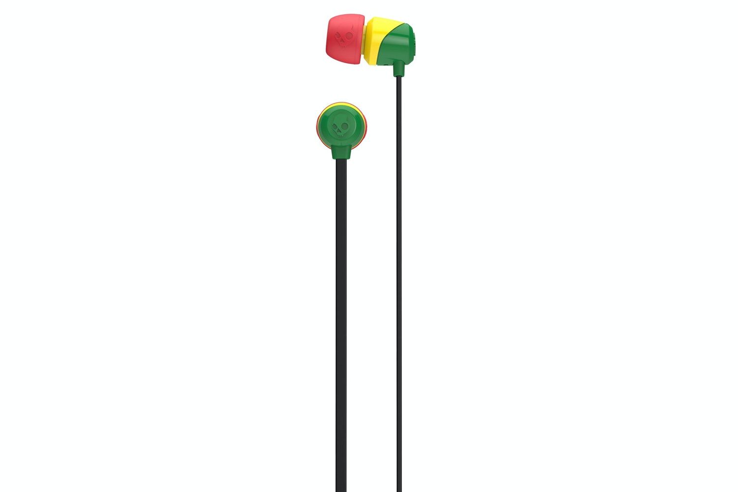 Skullcandy Jib In Ear Headphones | Rasta