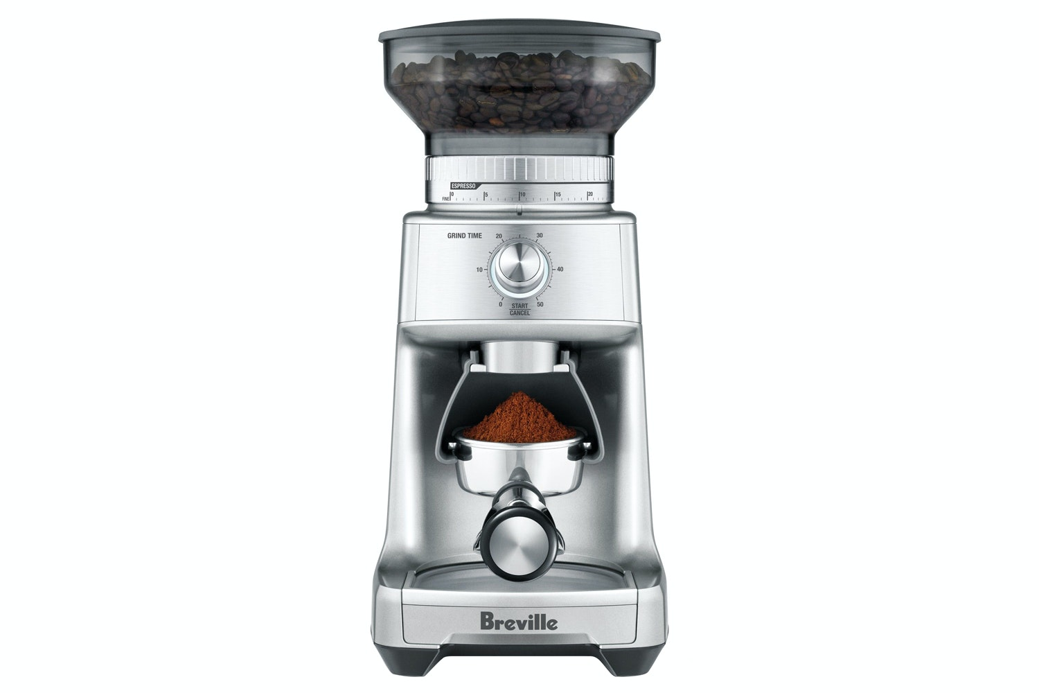 Breville Dose Control Pro Coffee Grinder | Chrome