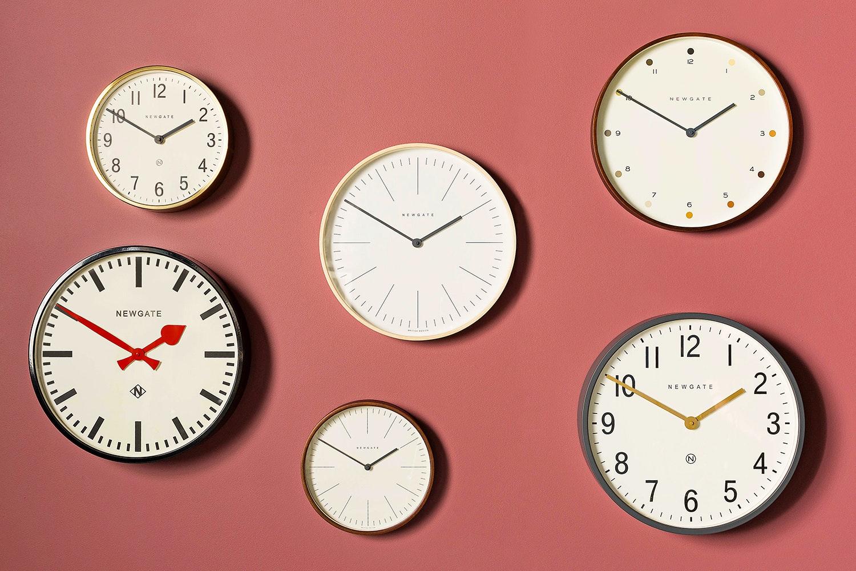 The Putney Clock in Black Case