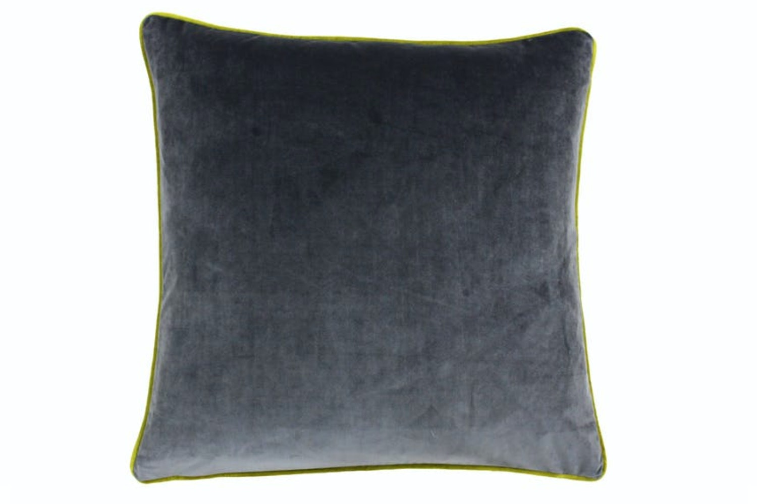 Meridian Filled Cushion | Charcoal & Moss