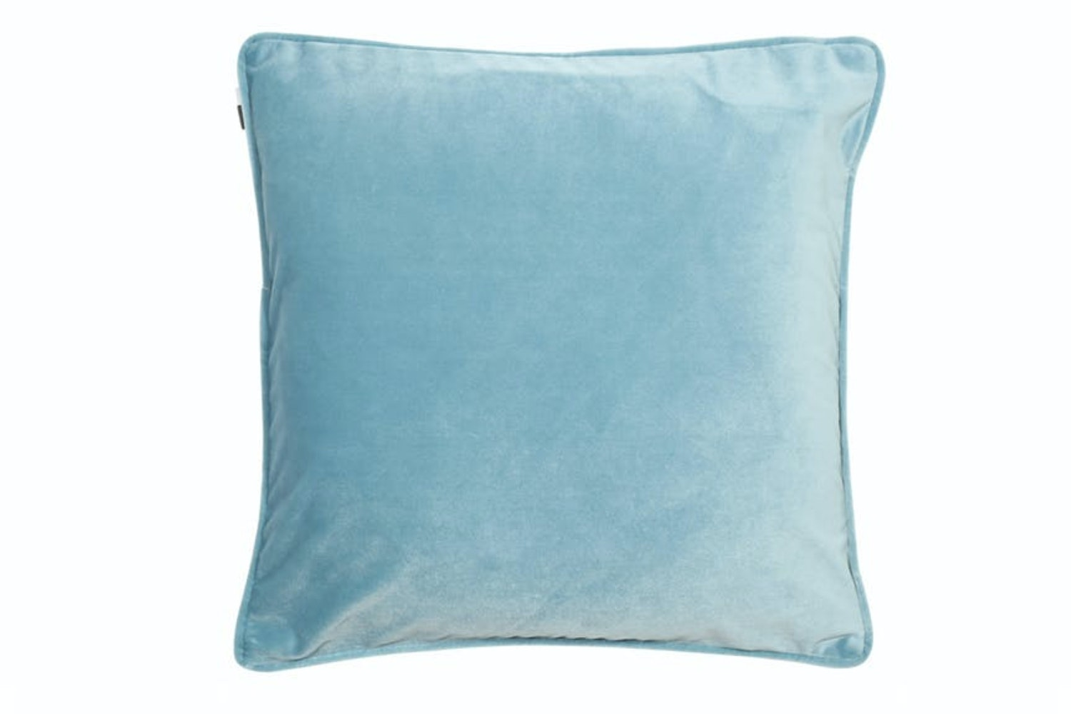 Luxe Cushion Velvet Piped | Ocean