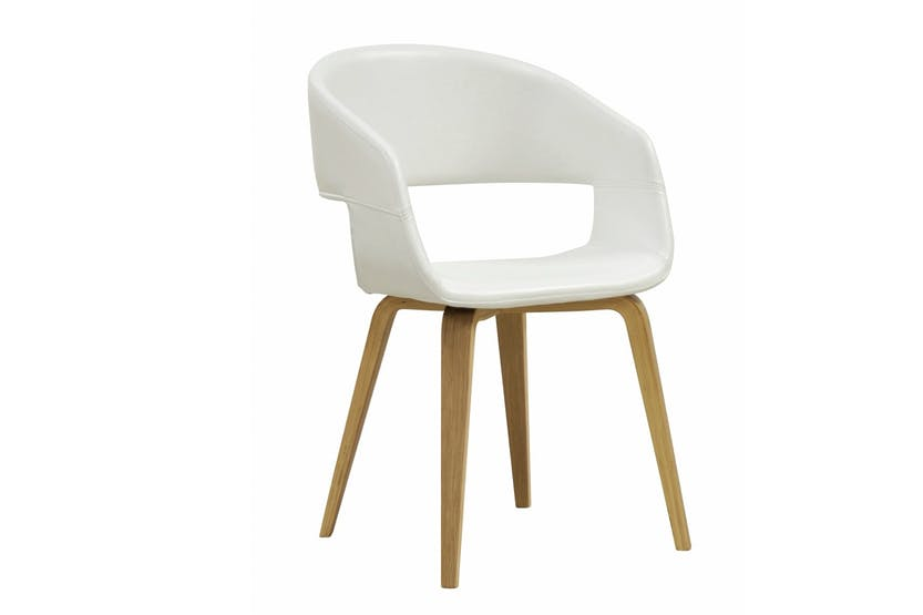 Davy Dining Chair | White