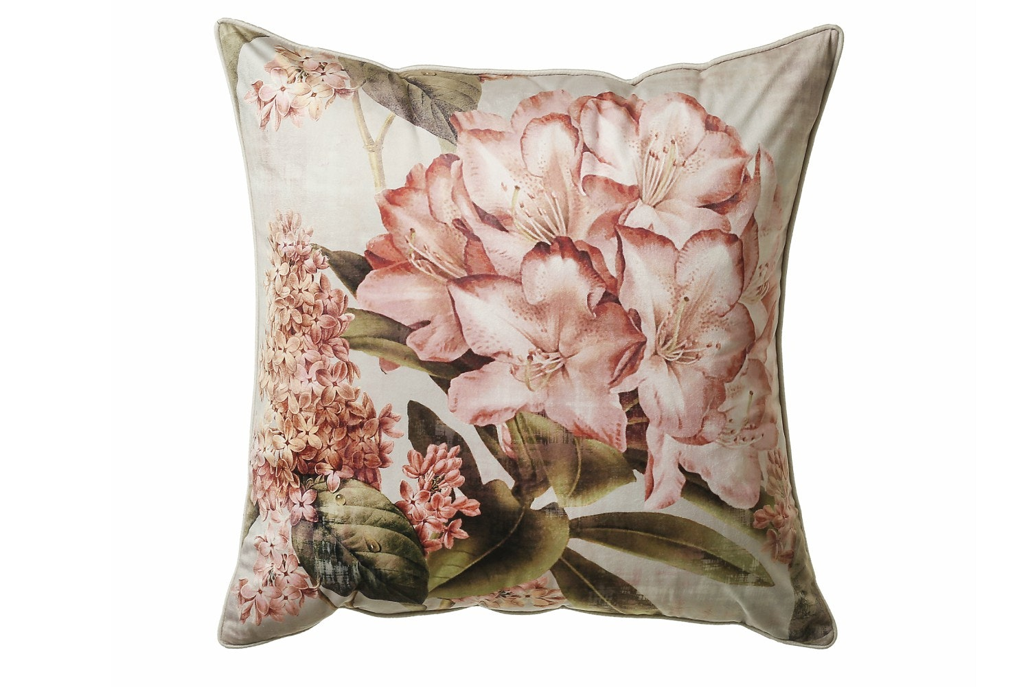 Scatterbox Botanical Blush Peach Cushion | 45X45cm