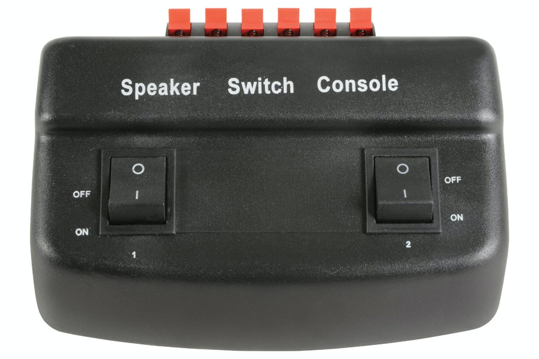 AVLINK 2 Way Loudspeaker Selector