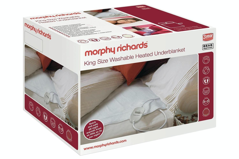Morphy Richards King Washable Heated Underblanket | 600115