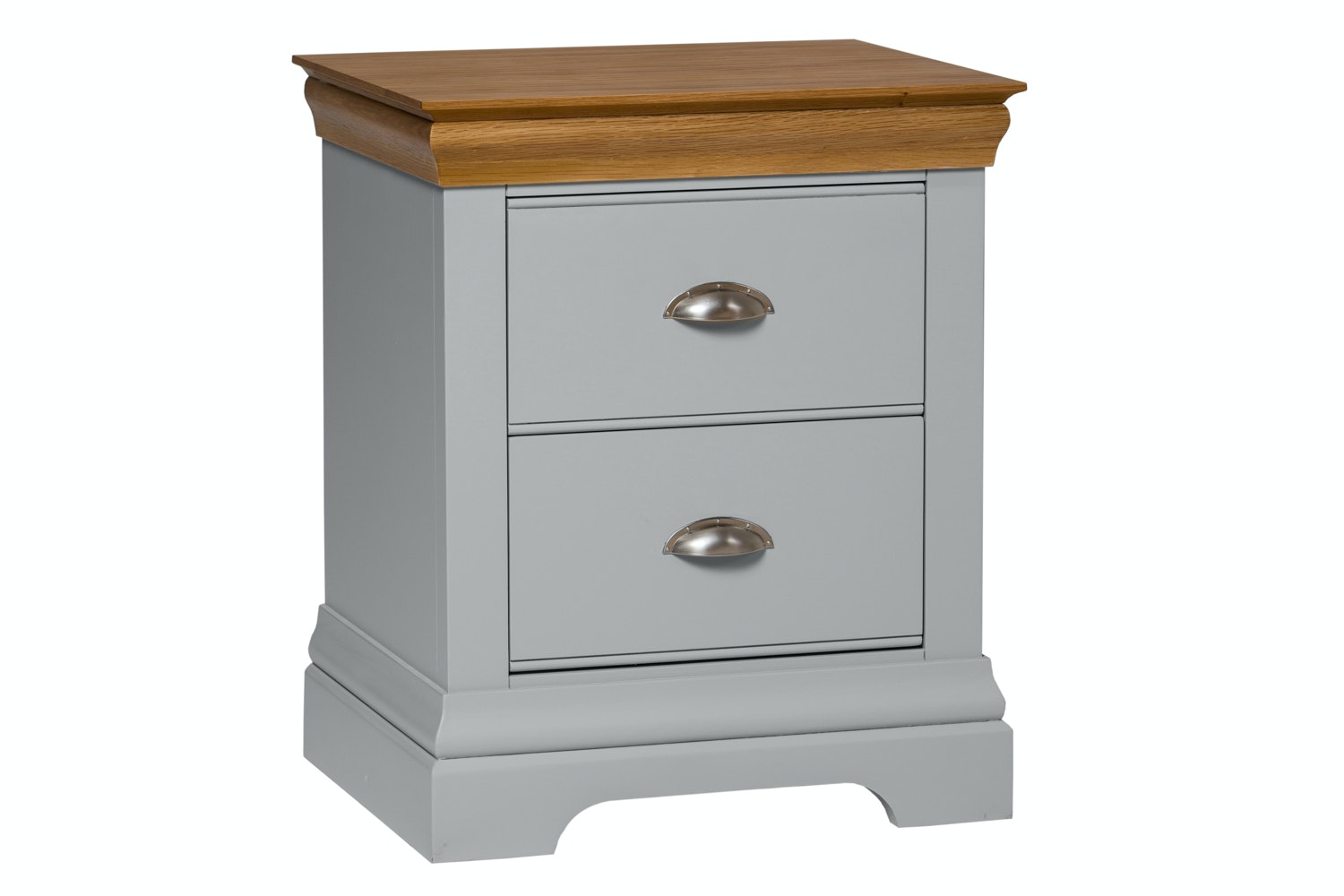Ascott Bedside 2 Drawer | Colourtrend