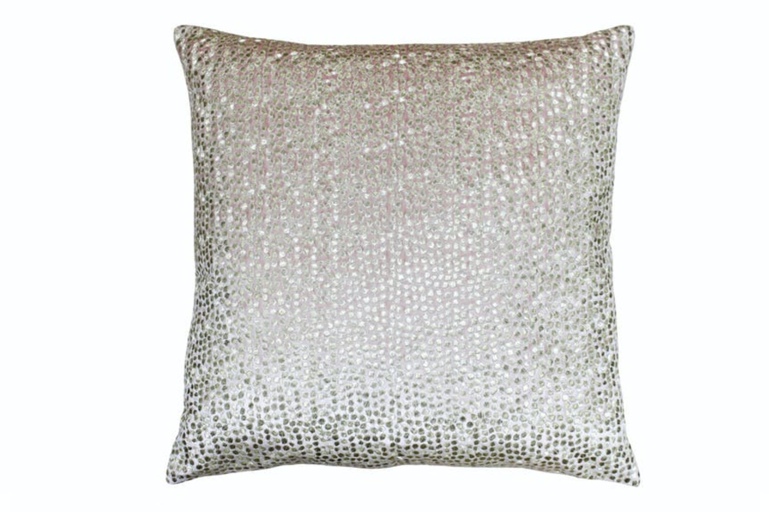 Galaxy Feather Filled Cushion | Blush