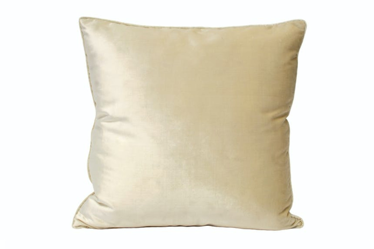 Luxe Velvet Feather Filled Cushion 55x55 | Ivory