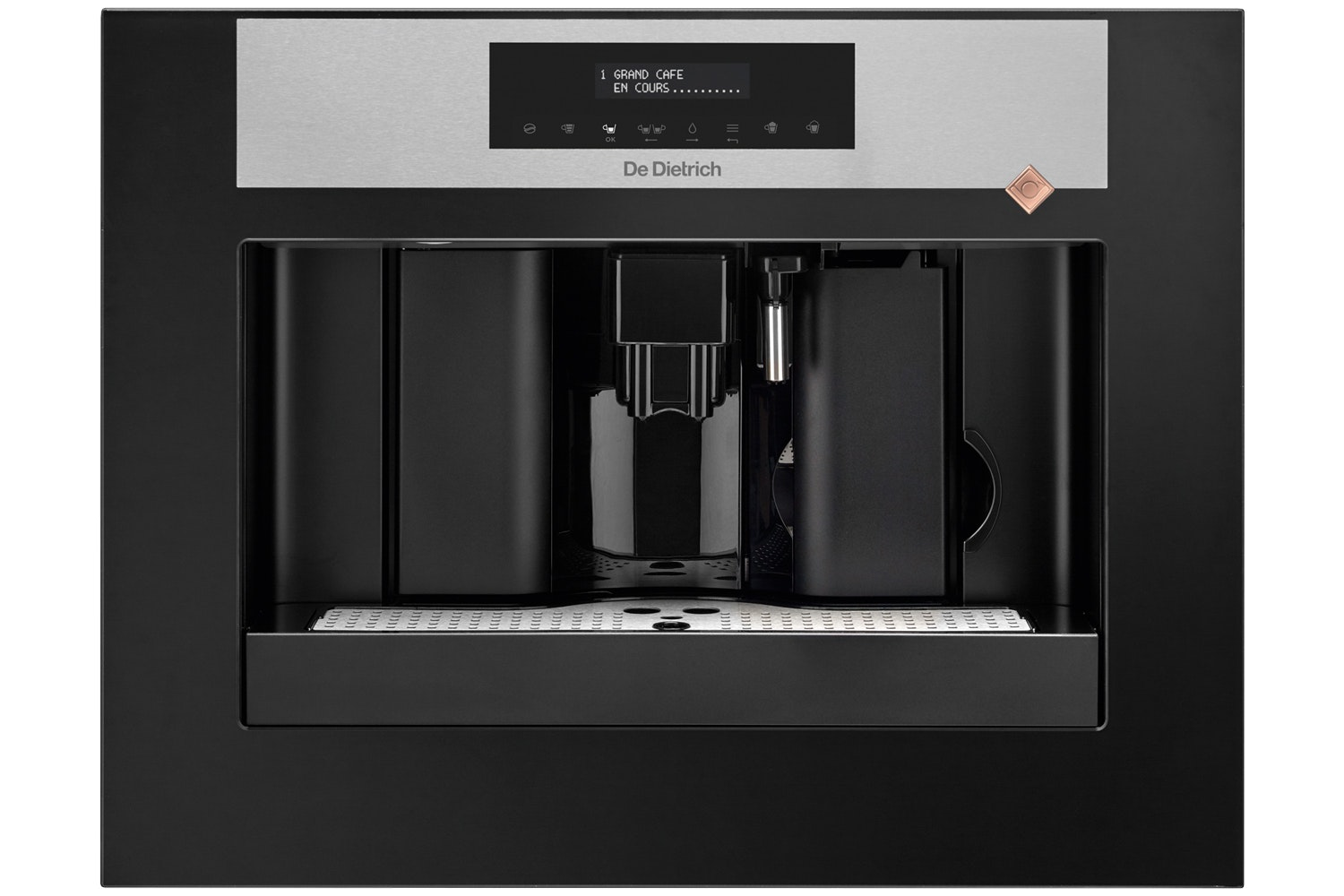 De Dietrich 45cm Espresso Coffee Machine | Black