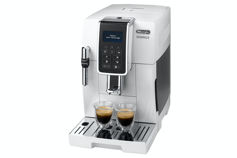 DeLonghi Dinamica Bean to Cup Coffee Machine | ECAM350.35.W