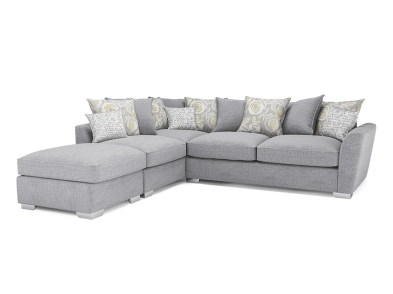 Fantasia Corner Sofa with Footstool