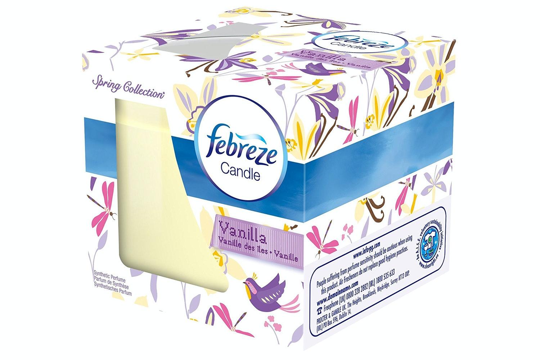 Febreze Vanilla Scented Candle