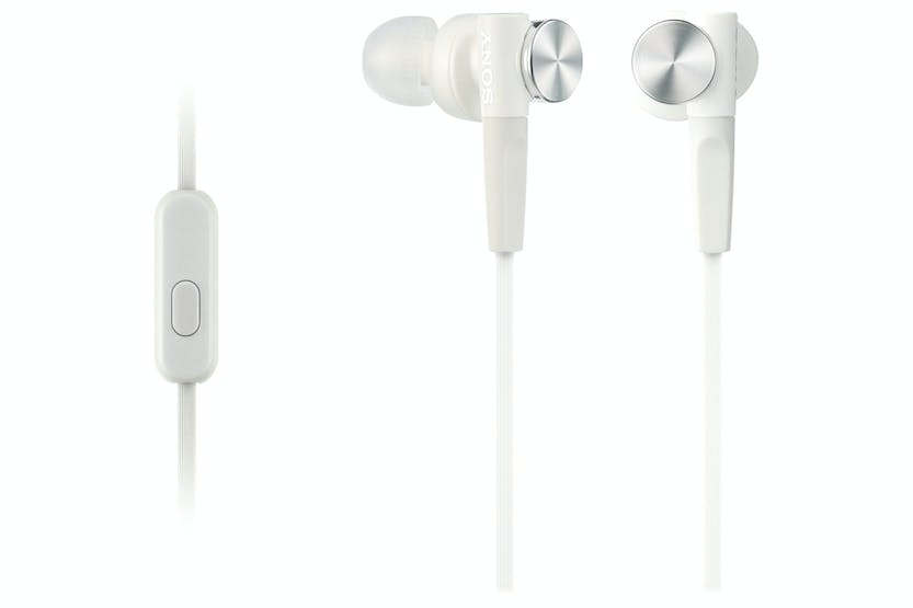 Sony MDR-XB50AP Extra Bass In-Ear Headphones | White