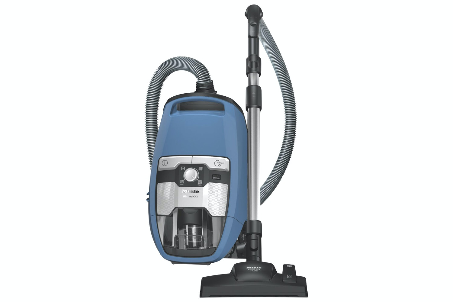 Blizzard CX1 Blue PowerLine - SKRF3  Bagless cylinder vacuum cleaners with EcoTeQ floorhead for energy efficient vacuuming with maximum cleaning.