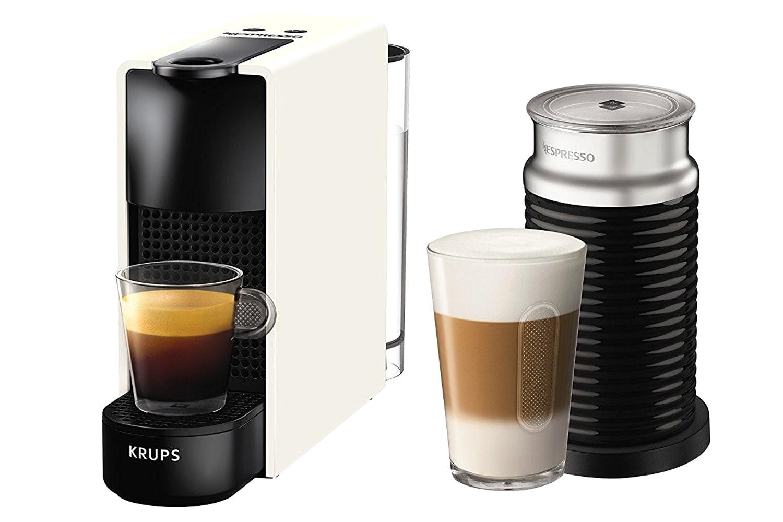 Krups Essenza Mini Nespresso Machine and Aeroccino | XN111140