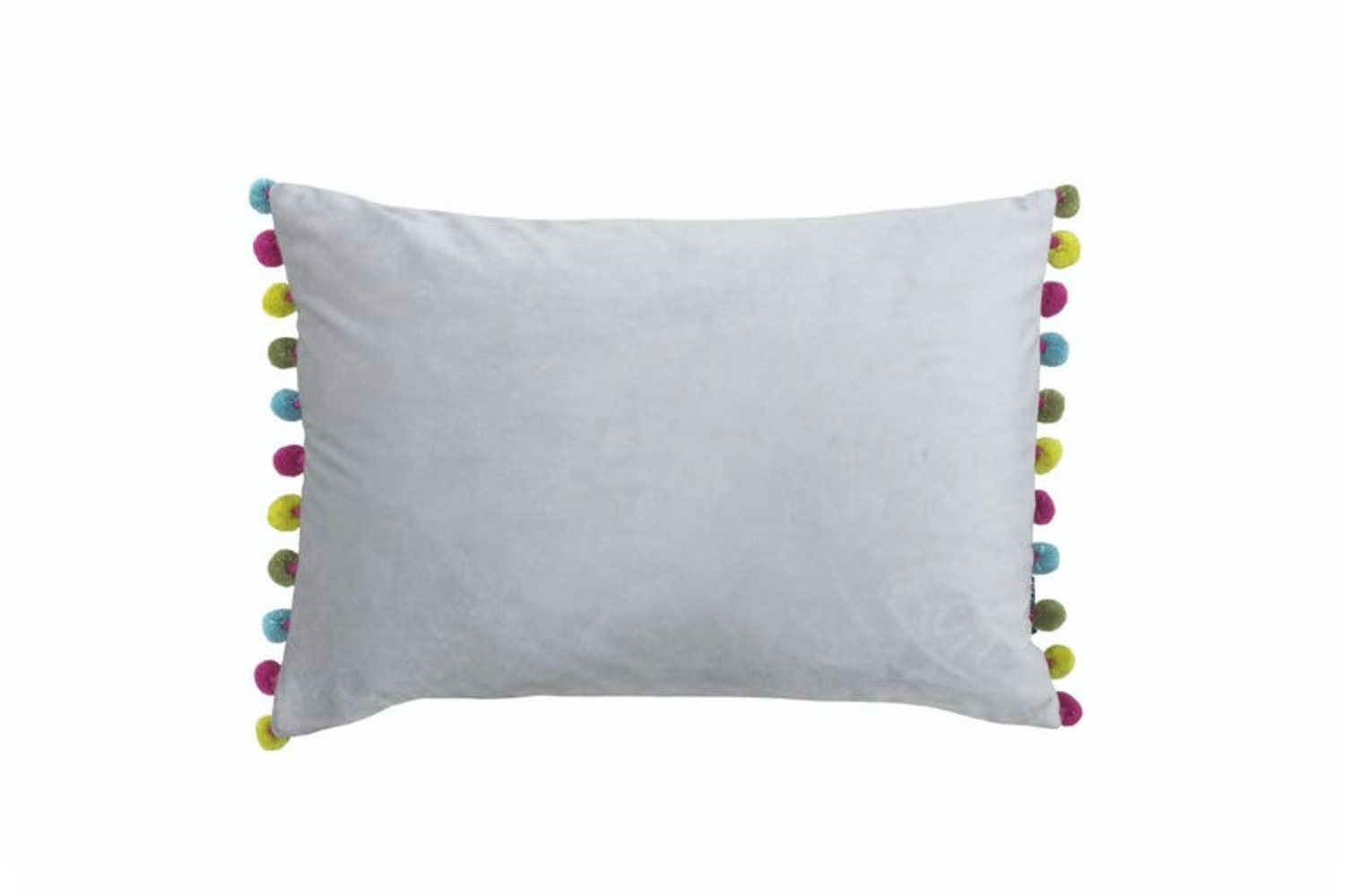 Fiesta Cushion | Dove & Multi