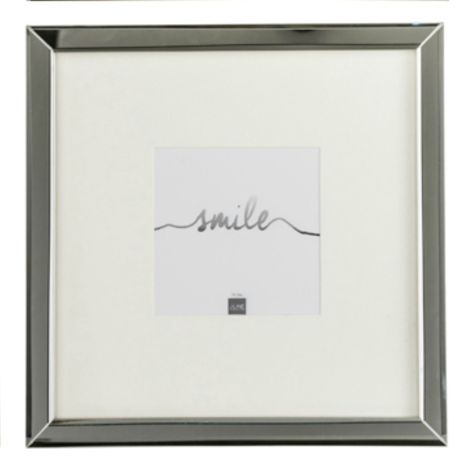Photoframe 12X12 Glass Silver