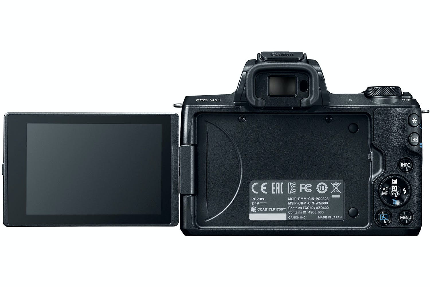 Canon EOS M50 & 15-45mm IS STM Lens