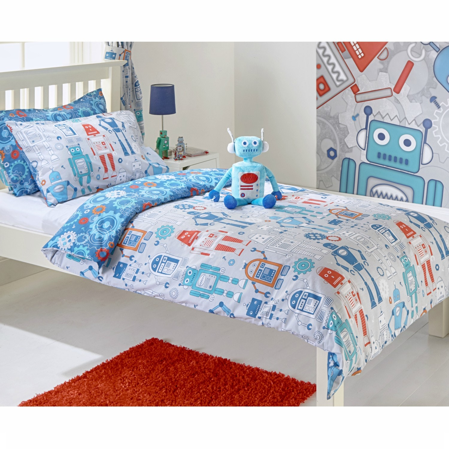 Robot Double Duvet Set