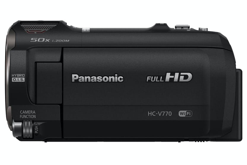 Panasonic HC-V770 Full HD Camcorder | Black