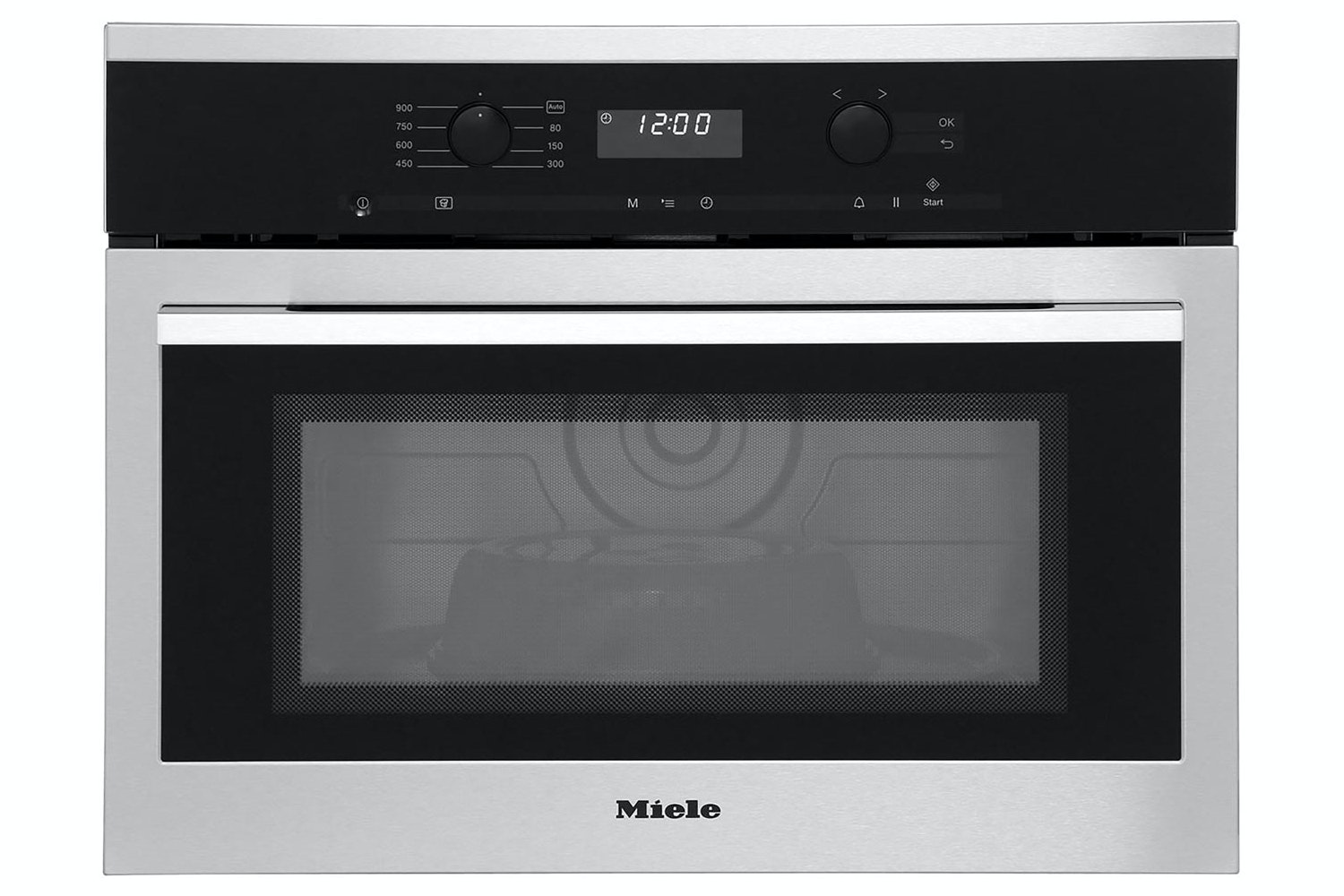 Miele M 6160 TC  Built-in microwave oven   with top controls for maximum combination options
