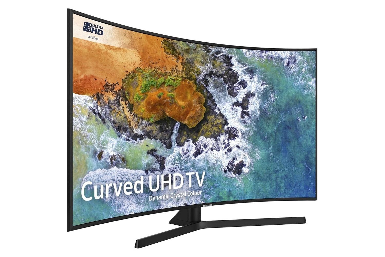 "Samsung 49"" 4K UHD Curved TV | UE49NU7500UXXU"