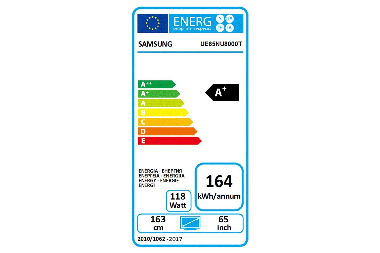 "Samsung 65"" 4K UHD HDR Smart TV   UE65NU8000TXXU"