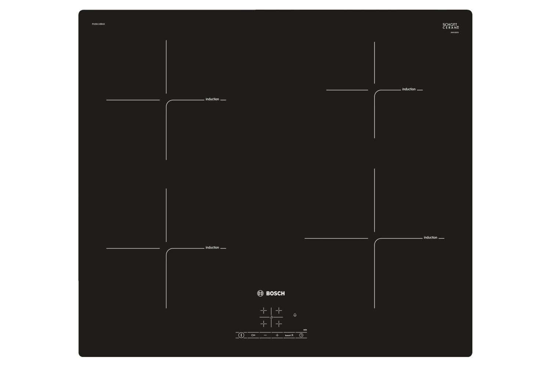 Bosch 60cm 4 Zone Induction Hobs | PUE611BB1E