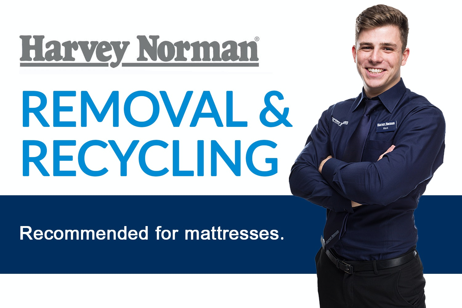 Mattress Removal and Recycle (1 Mattress)