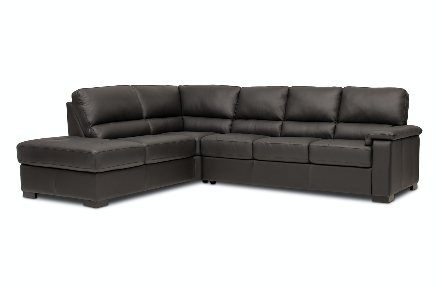 Maza 3 Seater Chaise | Black