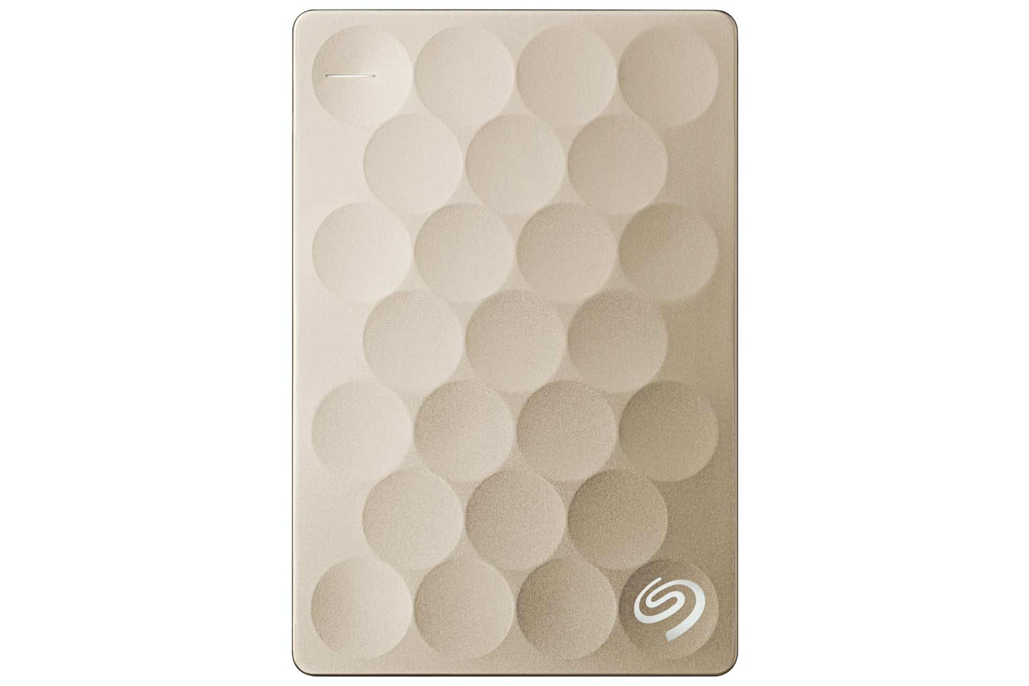 Seagate Backup Plus Ultra Slim Portable Hard Drive | 1TB | Gold