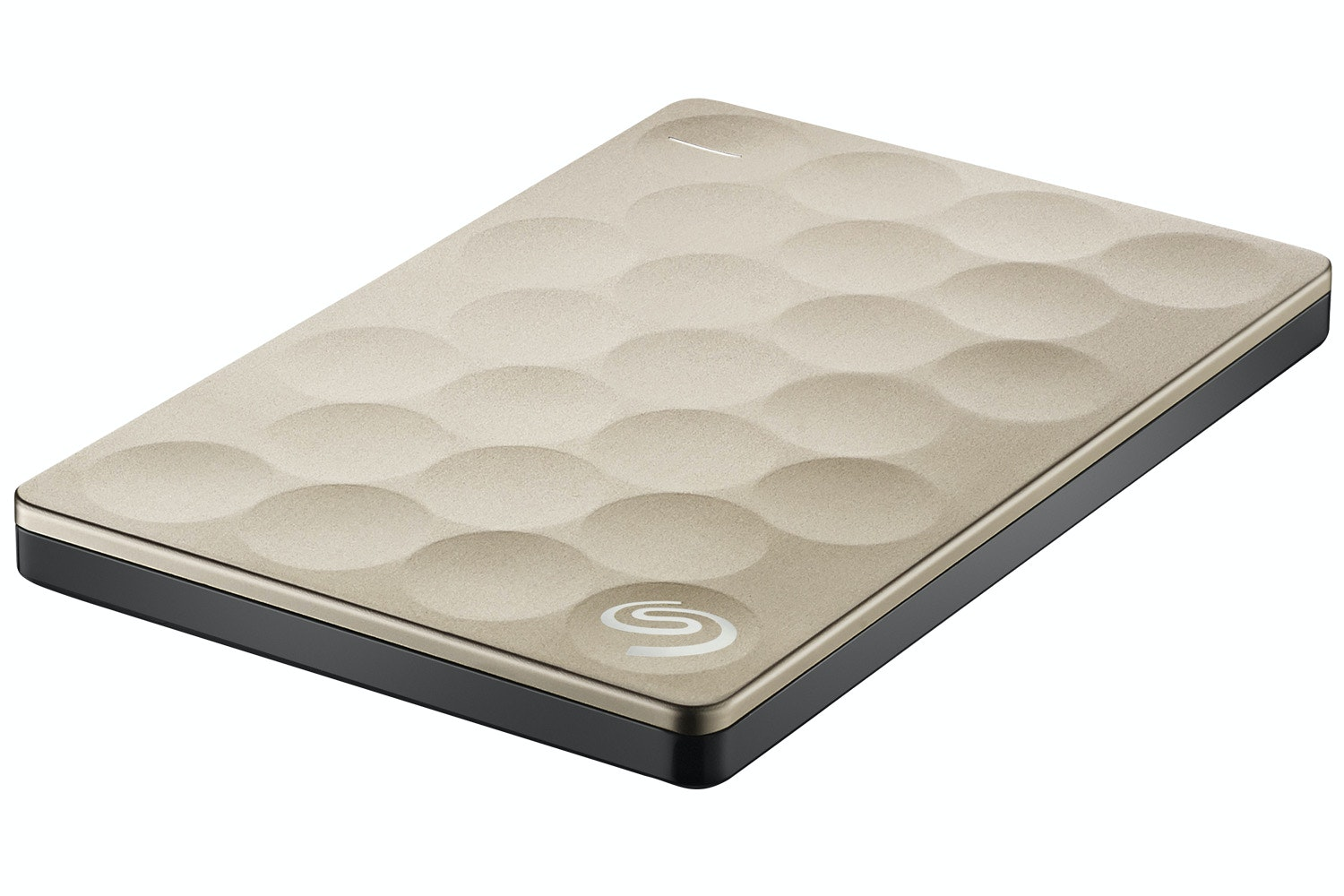 Seagate Backup Plus Ultra Slim Portable Hard Drive | 2TB | Gold