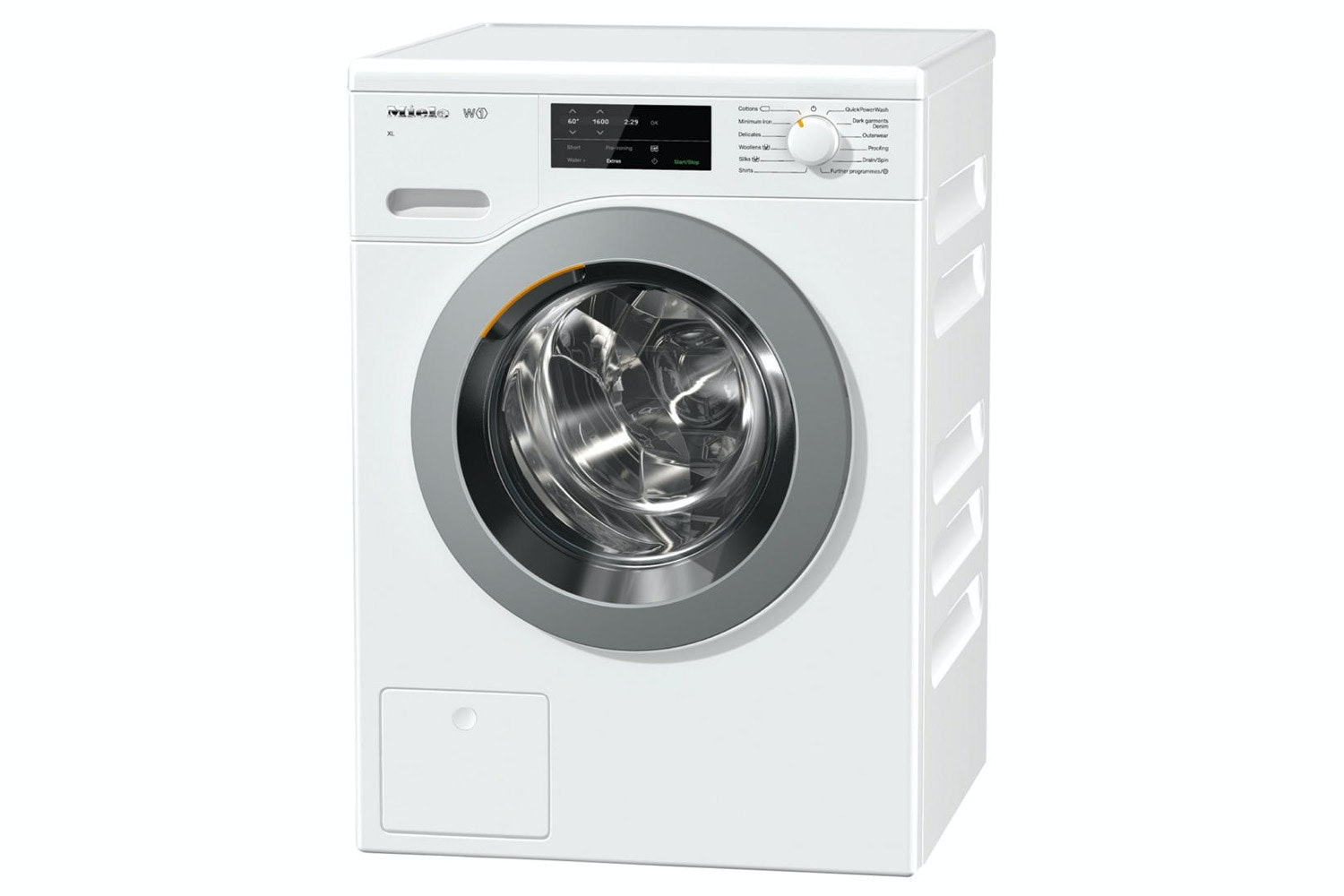 Miele WCG120 XL  W1 Front-loading washing machine   with honeycomb drum & pre-ironing for large loads