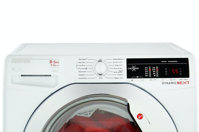 Hoover 8kg Washer / 5kg Dryer   WDXOA485C-80