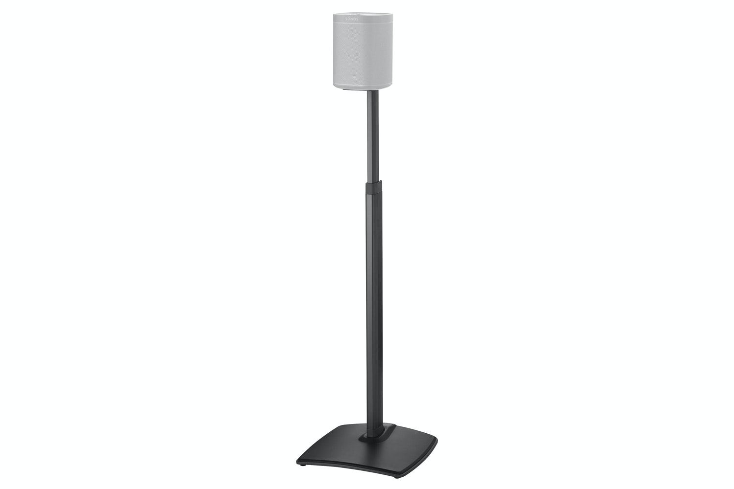 Adjustable Height Wireless Speaker Stands designed for SONOS ONE, Play:1, and Play:3
