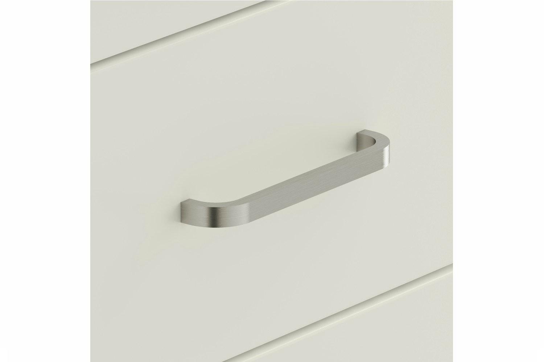 Ember Chest | 6 Drawers | Grey Oak/White