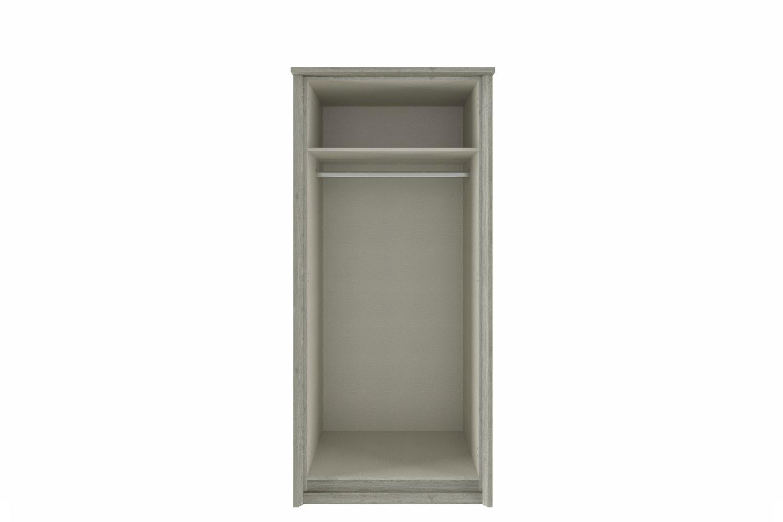 Presley Wardrobe | 2 Doors | Oak & White