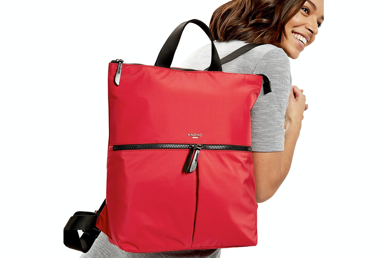 "Knomo Reykjavik 15"" Tote Backpack | Poppy Red"