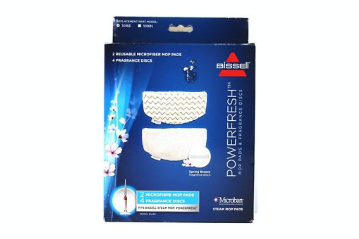 Bissell Power Fresh Steam Mop Pads and Fragrance Discs | 1016E