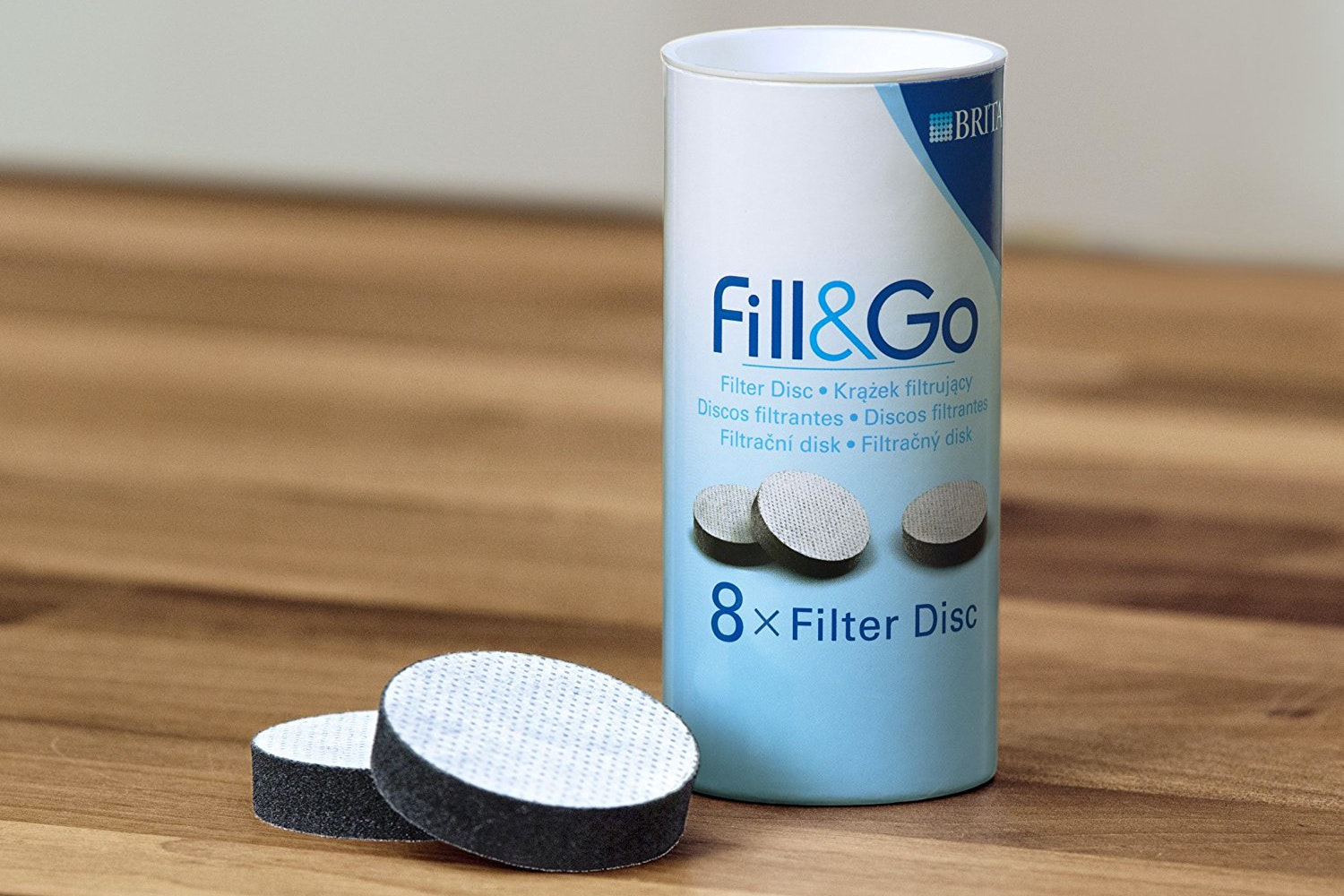 Brita Fill&Go Replacement Discs | 8 Pack