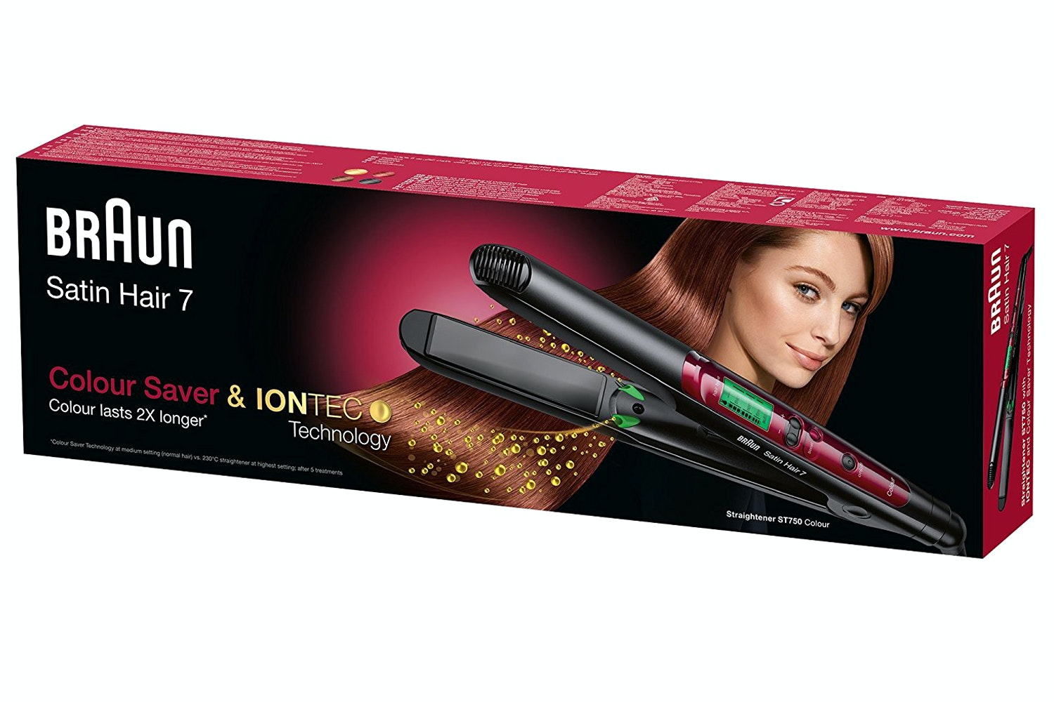 Braun Satin Hair 7 Colour Straightener | ST750