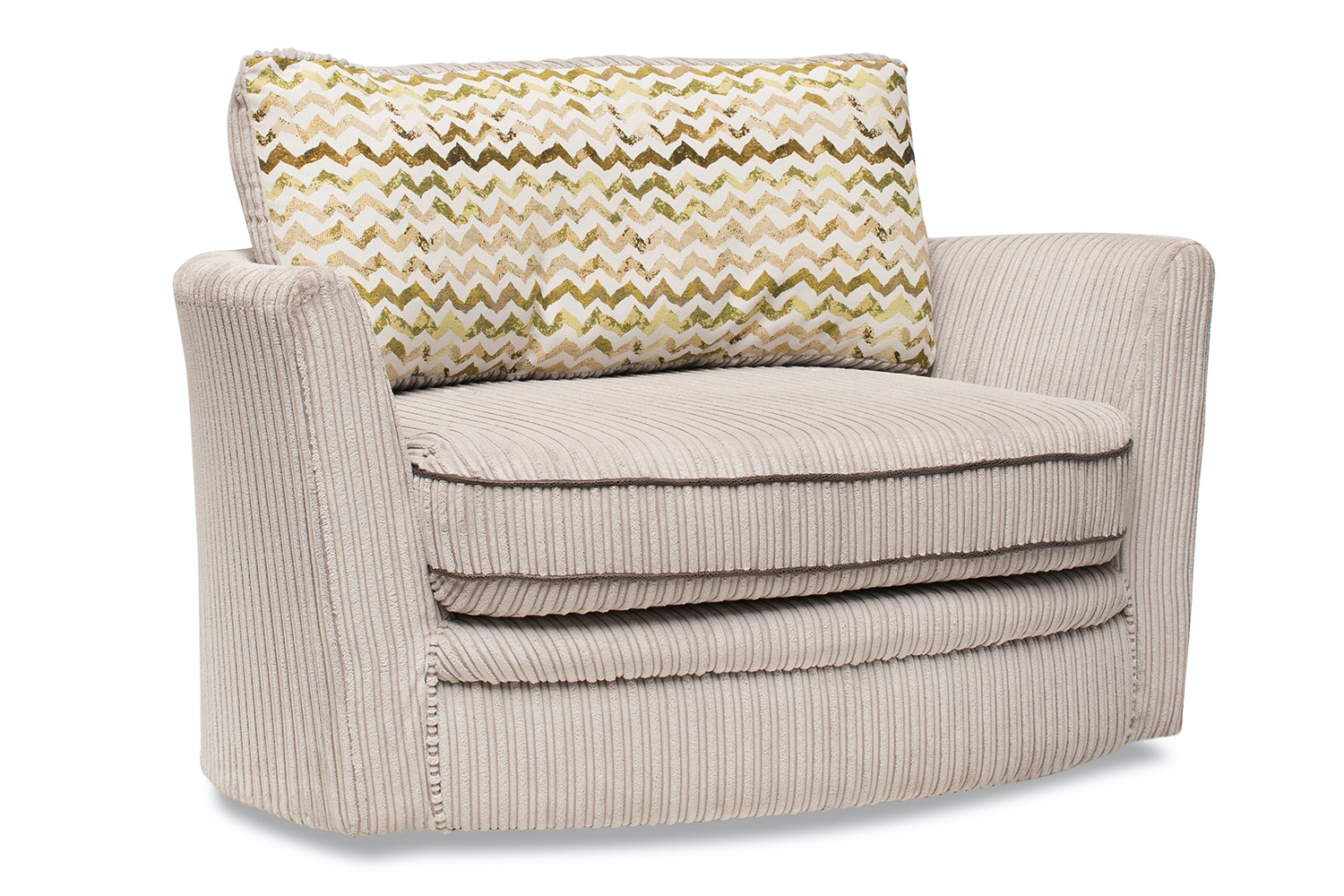 Darcia Twister Loveseat