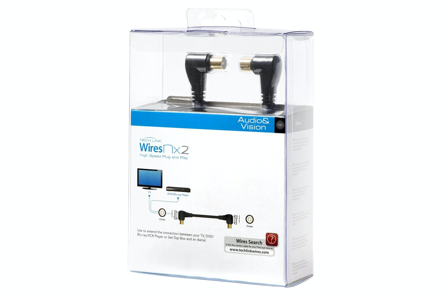 Techlink WiresNX2 Coax Antenna Cable | 3m