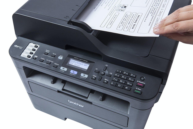 Brother MFC-L2710DW Wireless 4-in-1 Mono Laser Printer | Black