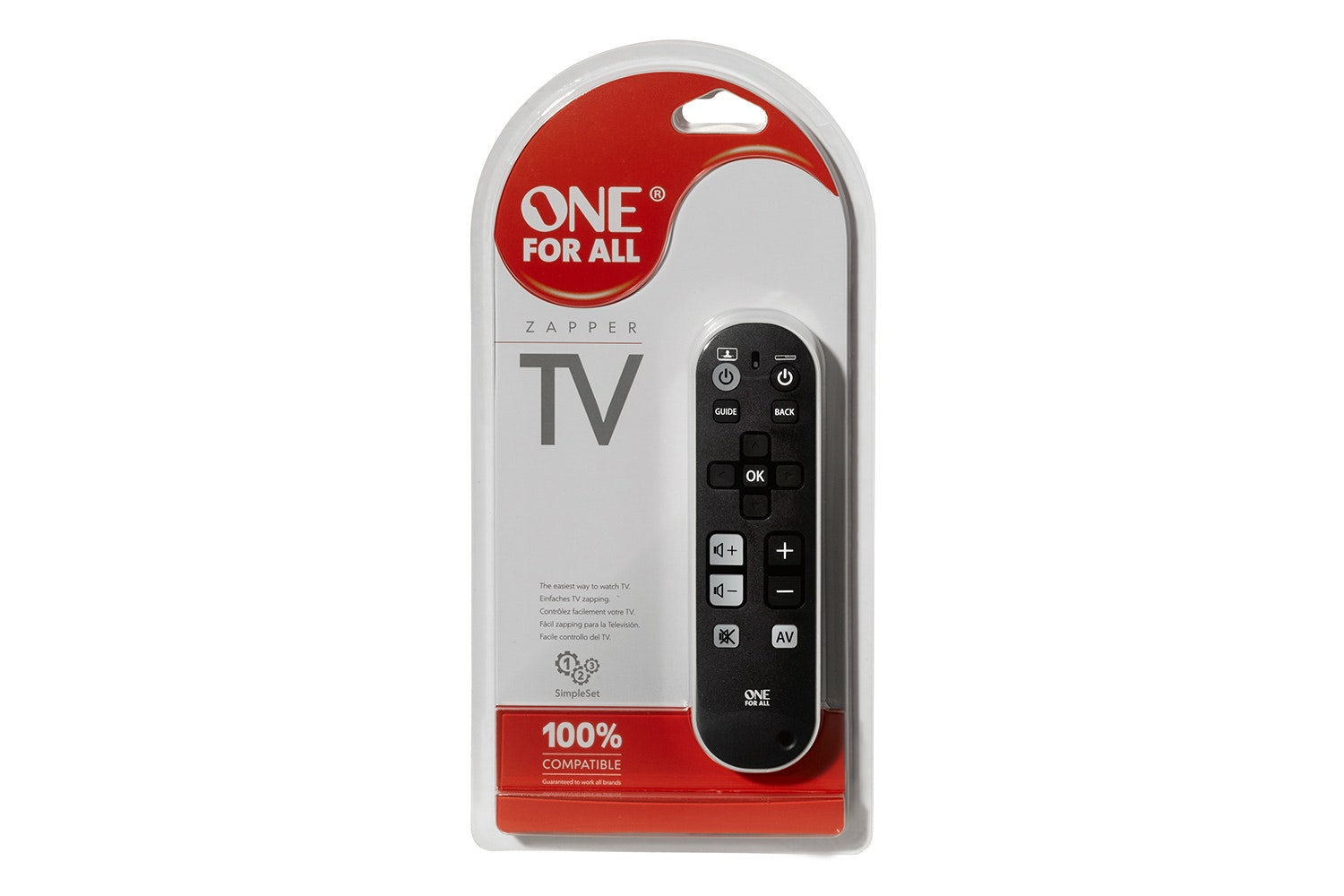 One For All TV Zapper Universal Remote Control | URC6810