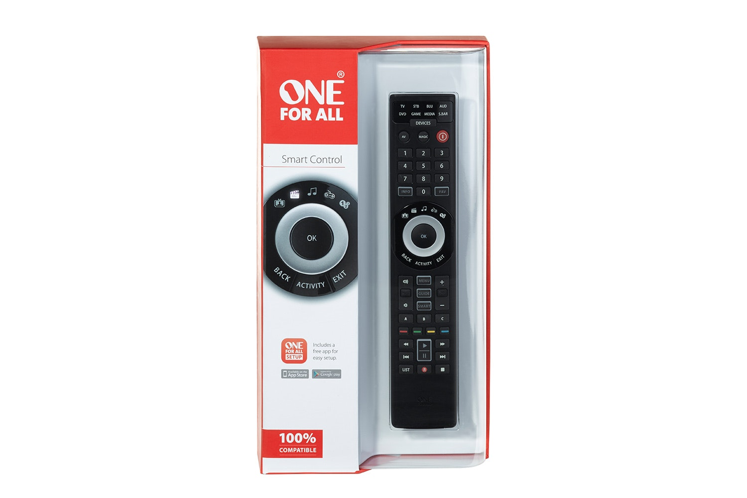 One For All Smart 8 Device Remote Control | URC7980