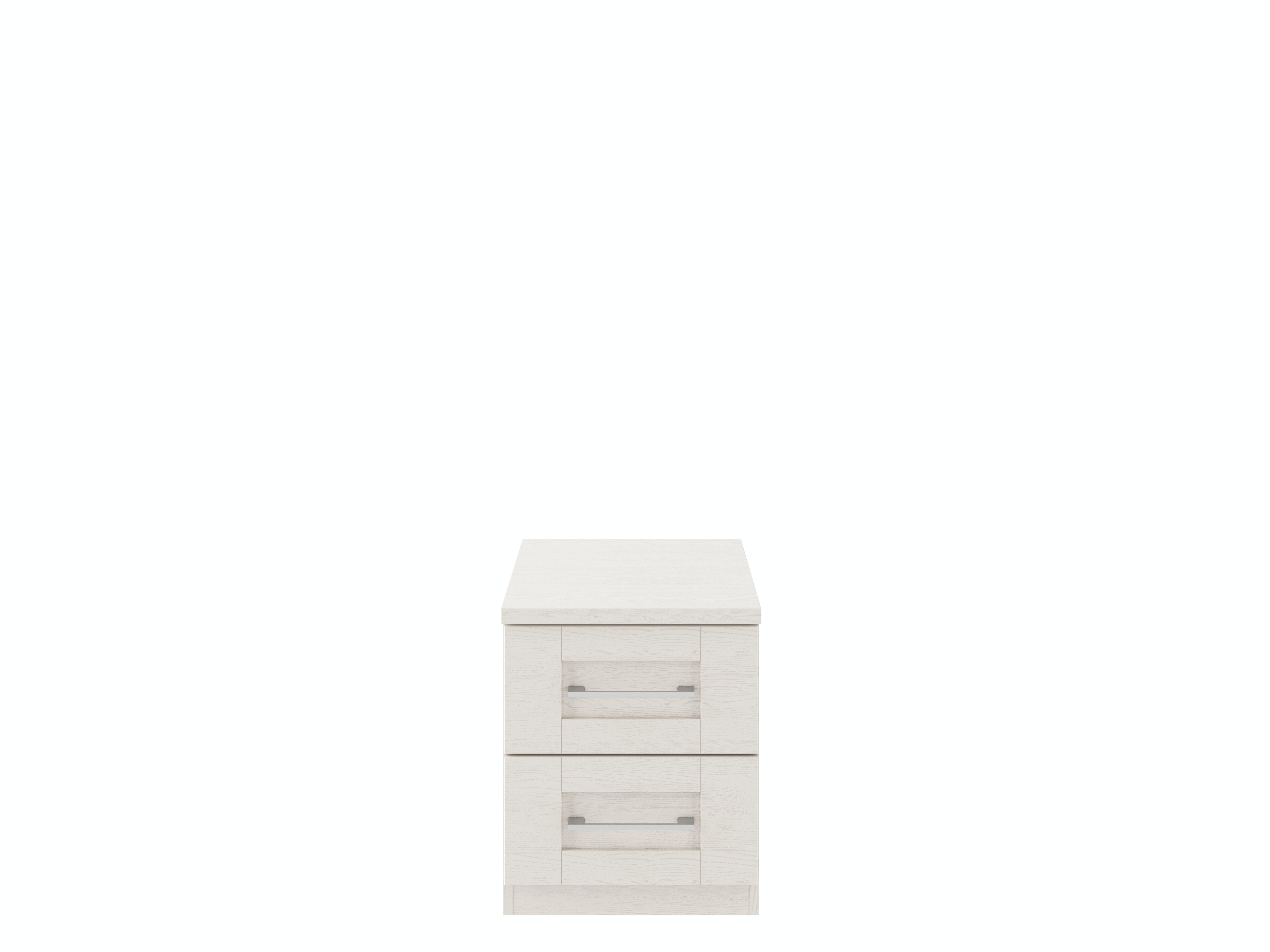 Monaco Cashmere Bedside | 2 Drawers