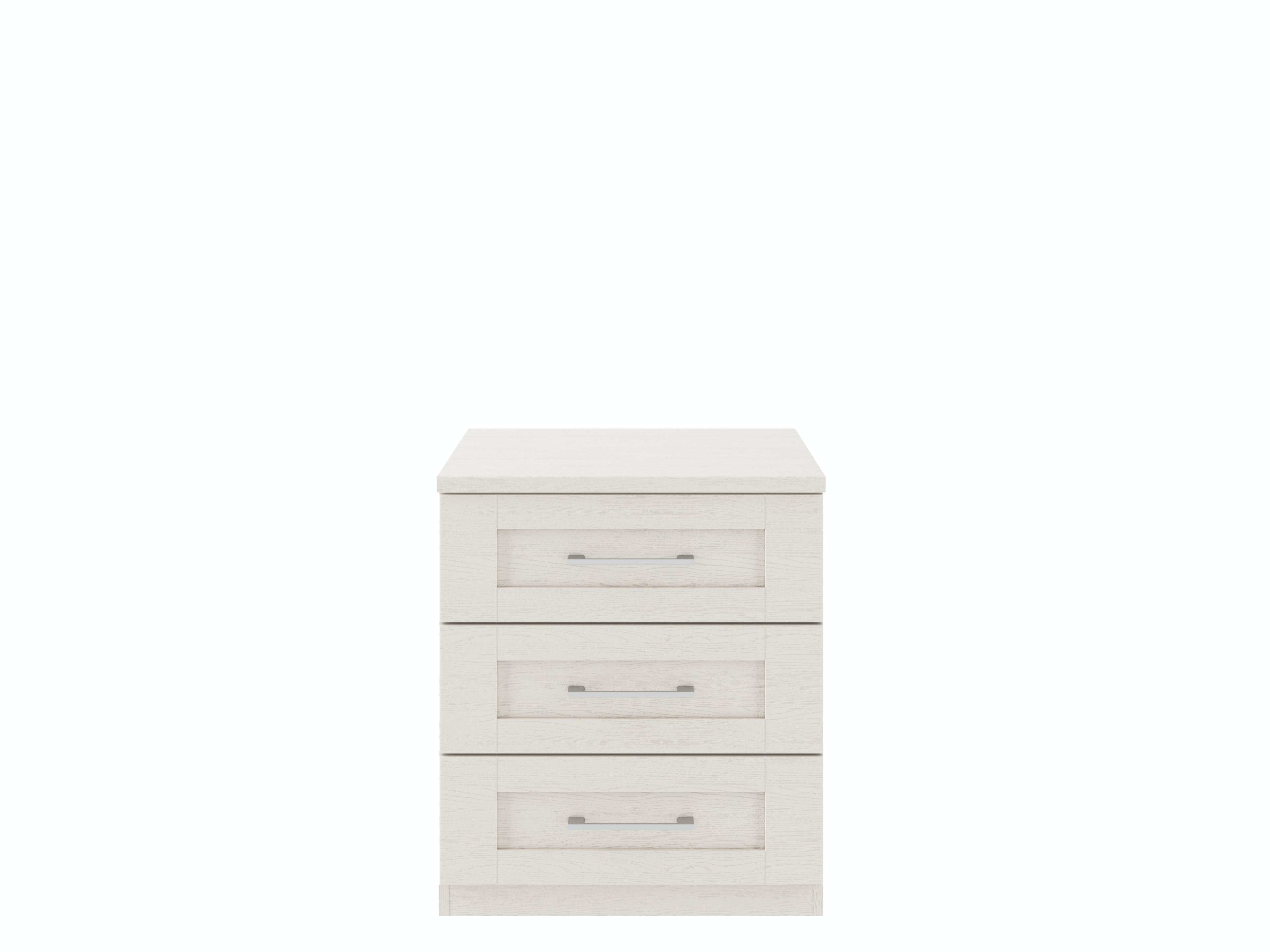 Monaco Cashmere Wide Chest | 3 Drawers