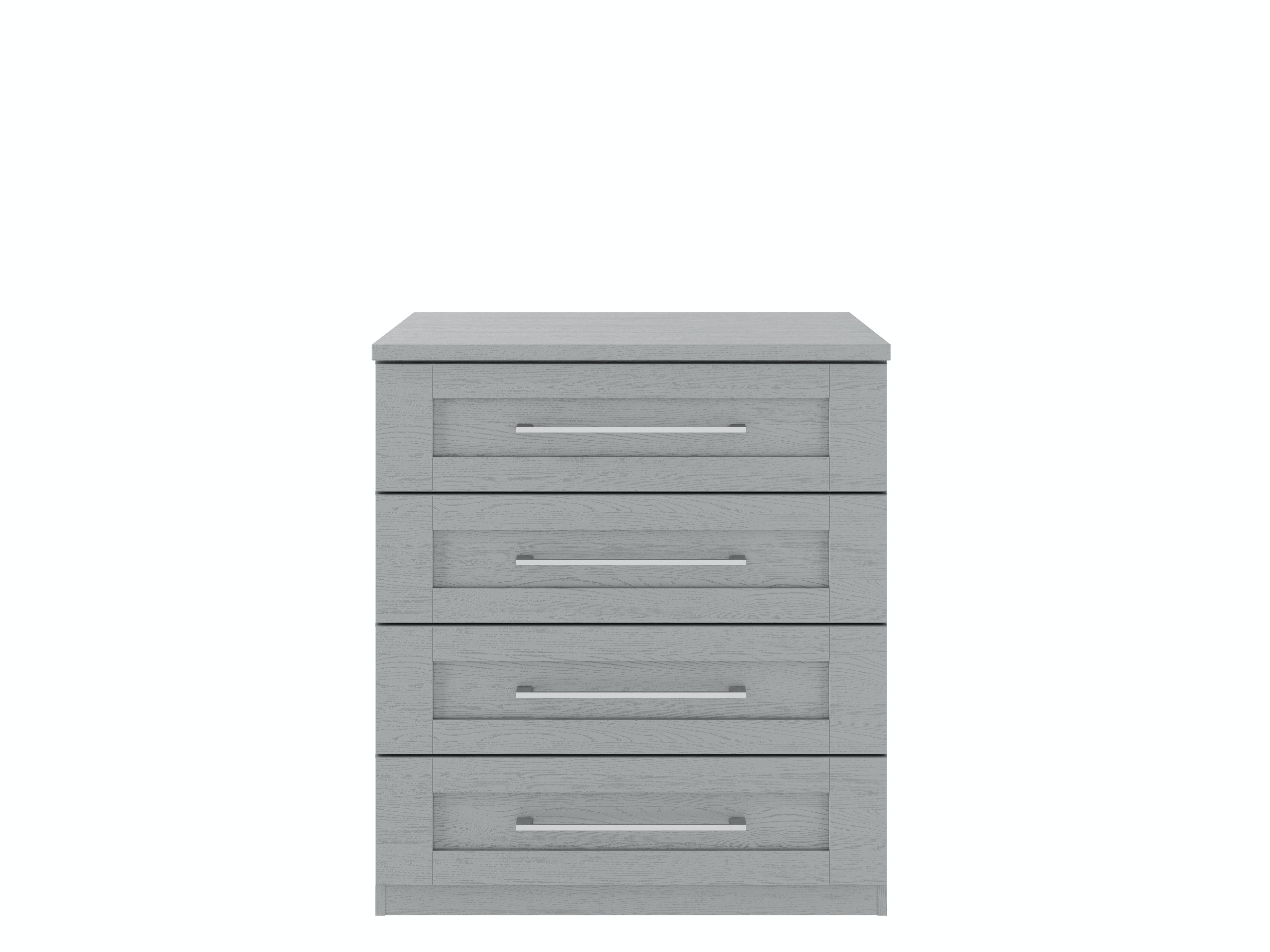 Monaco Chest | 4 Drawers | Dust Grey